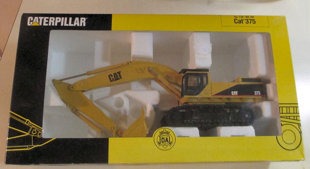 JOAL CATERPILLAR 375 pelleteuse 1 50 échelle  189 nouveau dans boîte d'origine rare