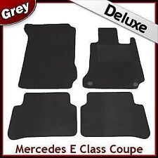 Tailored Carpet Mats LUXURY 1300g for MERCEDES E Class 2009 2010 2011 Coupe GREY