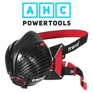 trend air stealth half mask respirator