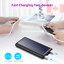Solar Charger 26800mAh Portable Solar Power Bank with 4 LEDs and 2 USB Output...