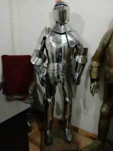 New Armour Medieval Wearable Knight Crusader Full Suit Of Armor Collectible