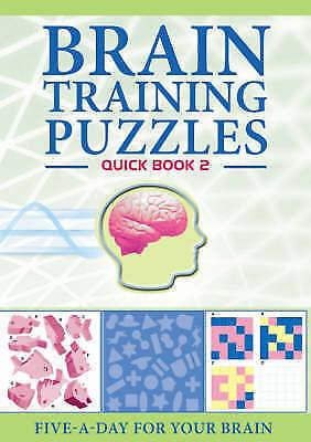 Brain-training: Quick 2 (Brain Training Puzzles): Book 2,    Paperback Book   Ac