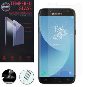 Vitre-De-Protection-Transparent-Ecran-Film-Verre-Trempe-Model-Samsung-Galaxy-J