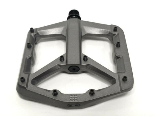 Crank Brothers STAMP 3 Pedals for MTB Mountain Bike LARGE Grey V2 NEW 2020