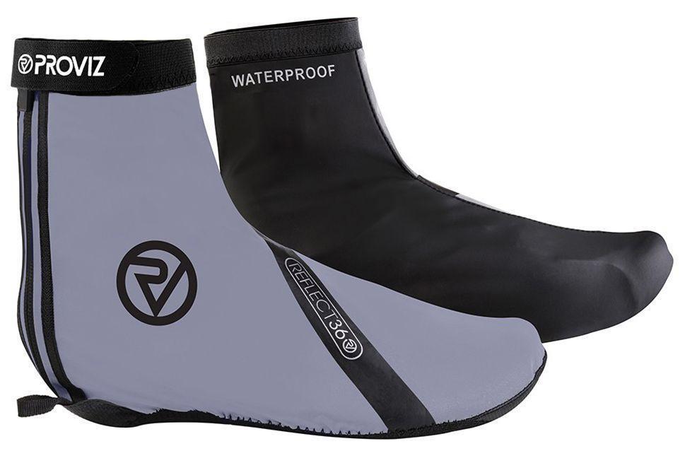 Proviz Reflect 360 Waterproof 100% Reflective Bike Cycling Overscarpe 4 Dimensiones