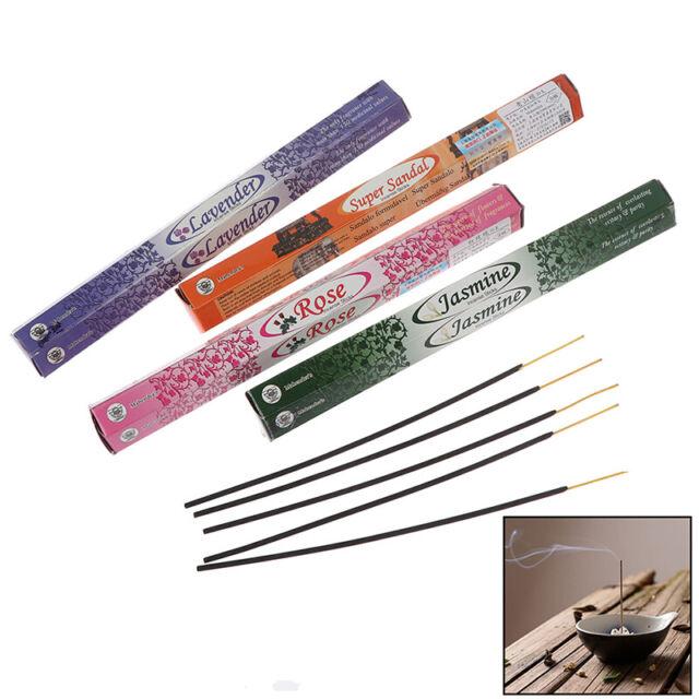 20*Tibetan Indian Incense Sticks Multiple Flavor Incense Sticks Fragrance Ind JF