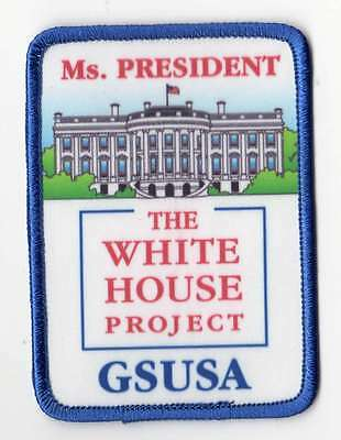 President White House Project GSUSA Girl Scouts Fun Patch Badge ~ Ms