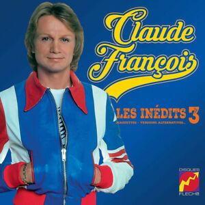 Claude-Francois-10-034-25cm-CD-Les-Inedits-3-Tirage-Limite-1000-ex-France