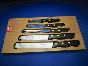 Fabulous Details About J A Henckels Vtg Mirror Finish Kitchen Knife Set Made In Germany Unused Cond Interior Design Ideas Truasarkarijobsexamcom