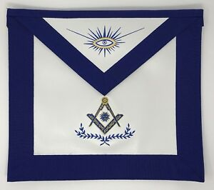 Details about Freemason Masonic Senior Deacon Apron