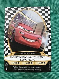 Sorcerers-of-the-Magic-Kingdom-Card-29-Lightning-McQueen-039-s-Ka-Chow-New-Moon