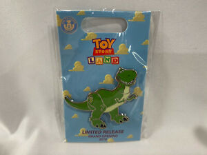 2018-Loungefly-Toy-Story-Land-Grand-Opening-Limited-Release-Pin-Rex-New
