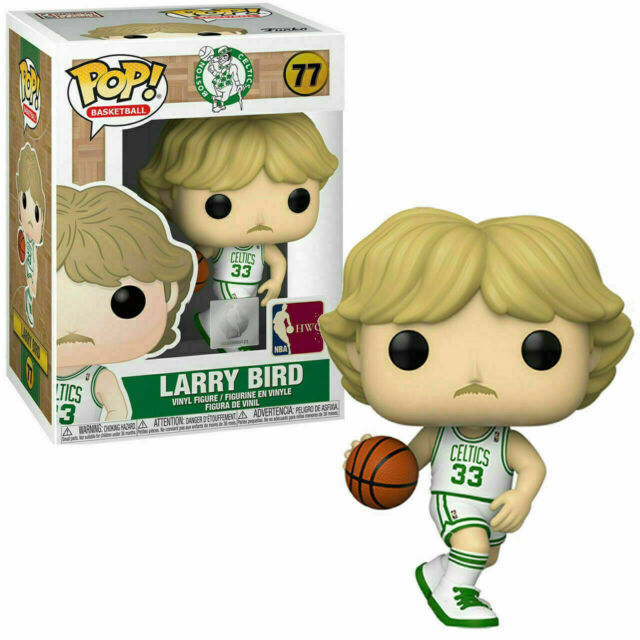 Funko POP! Basketball NBA LARRY BIRD Celtics Home Figure #77 DAMAGE BOX