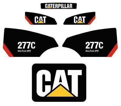 262 STICKER SET SKID STEER CATERPILLAR CAT DECAL KIT LOADER