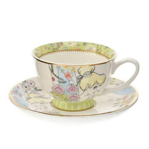 Disney Store Japan Tinker Bell Tea Cup & Saucer Girlish by Ebay Seller