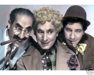 THE-MARX-BROTHERS-A-NIGHT-IN-CASABLANCA-1946-8x10-034-HAND-COLOR-TINTED-PHOTOGRAPH