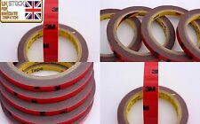 3M® 3m/10mm Auto Acrylic Foam DOUBLE SIDED Attachment Adhesive Tape Best Quality