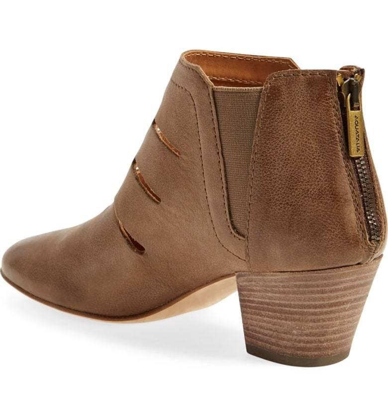 Aquatalia Freida Ankle Stiefel Mushroom Farbe Größe 7 7 7 Sale 6f19e1