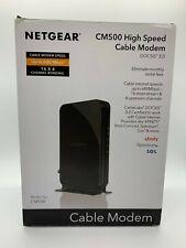 NETGEAR Cm500-1aznas 16x4 DOCSIS 3.0 Cable Modem Max Download Speeds of 686mbps