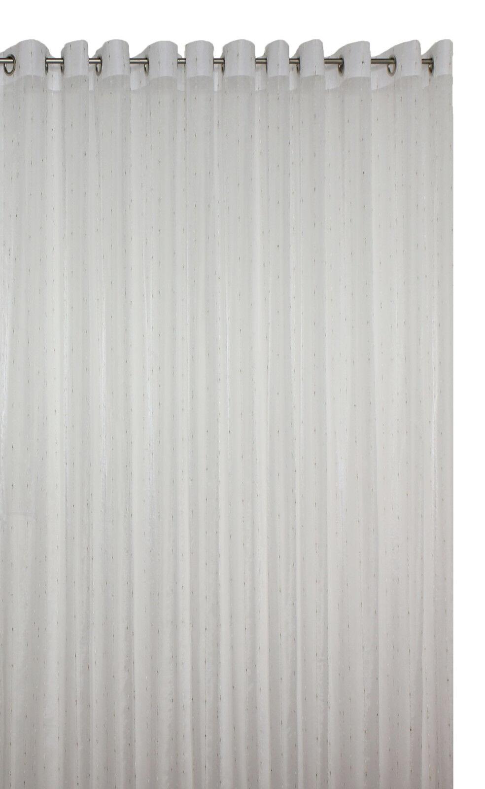 Fertig-Stores Anabel 3122 III auf Ösen- halbtransparent     20 Größen | Moderne und elegante Mode  8c345c