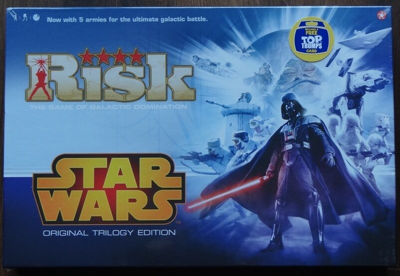 RISK STAR WARS - Original Trilogy Edition English Sealed