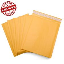 Kraft Bubble Mailers Shipping Padded Envelopes Self Seal Made In Usa Ships Free