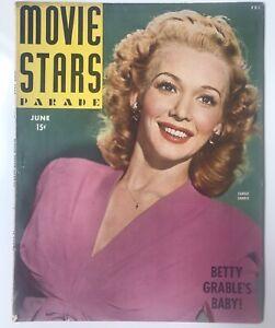 Movie-Stars-Parade-Magazine-1944-CAROLE-LANDIS-Betty-Grable-Jennifer-Jones