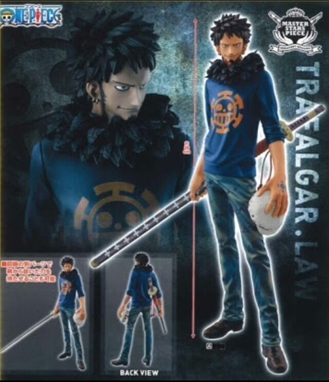 One Piece Trafalgar Law MSP Master Stars Piece MSP Banpresto figure figurine Jpn