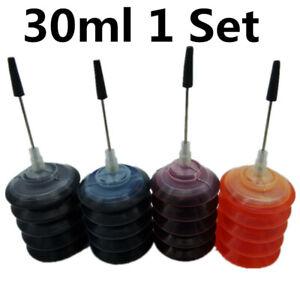4-x-30ml-Refill-Dye-Ink-Kits-For-HP-301XL-Deskjet-1050-2050-2050s-Inkjet-Printer