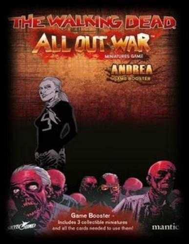 THE WALKING DEAD ALL OUT WAR - ANDREA GAME BOOSTER - MANTIC - 1ST CLASS NEXT DAY