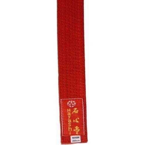Hayashi Budogürtel ROT Judo Karate Taekwondo Ju Jutsu 260cm