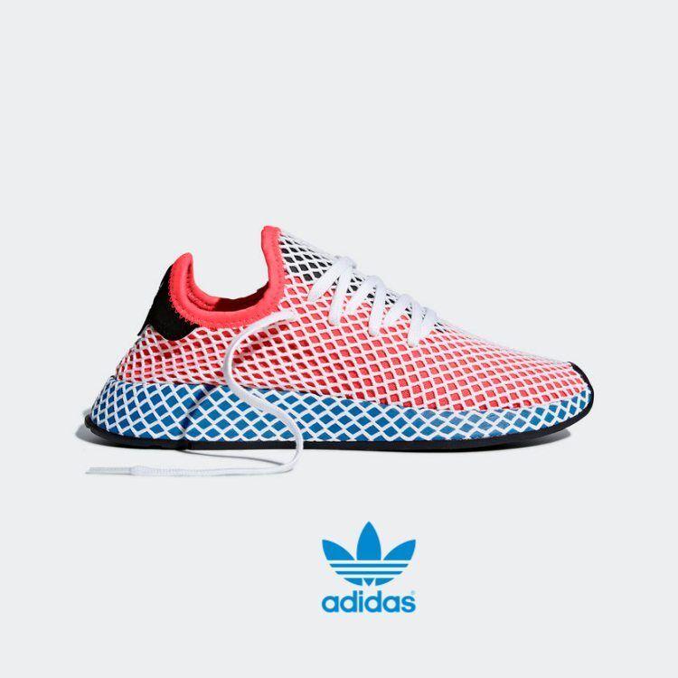 Adidas DEERUPT Runner Shoes Athletic  Lightweight Mesh CQ2624 Sz4-12