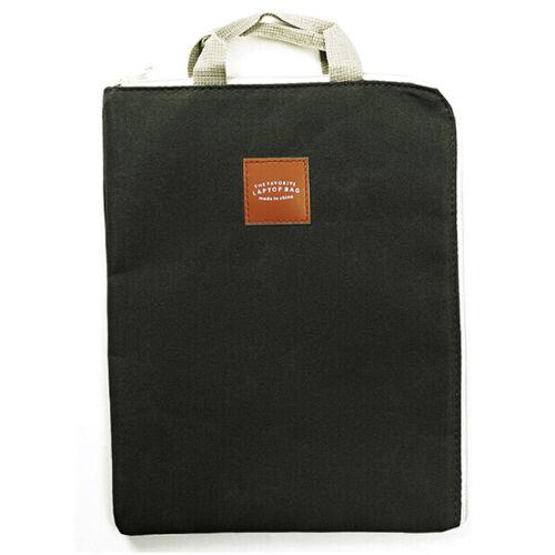 Document Stationery File Folder Storage Pouch Holder Zipper Bag School OfficeG0