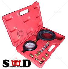 Car Wave Box Oil Pressure Meter Test Kit Gauge Diesel Petrol Garage Tool Tester