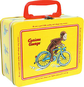 CURIOUS-GEORGE-Tin-Keepsake-Lunch-Box-New-CGKB