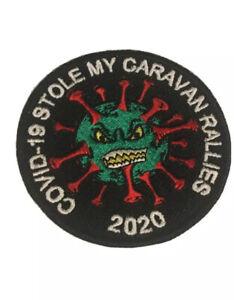 (Virus )Stole My CARAVAN RALLIES 2021 PATCH Badge Swift Bailey Lunar Elddis