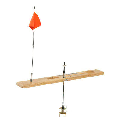 NEW Frabill Classic Wood Tip-Up Ice Fishing 1664