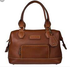 Longchamp Legende Sport Satchel Bag Cognac Leather $965 crg