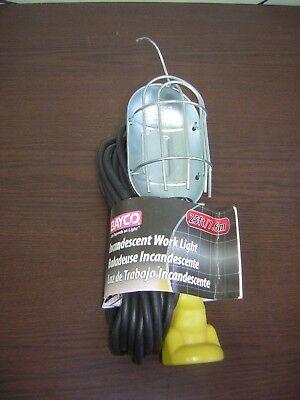 Bayco SL520 13 Watt Floor Work Light 25Ft
