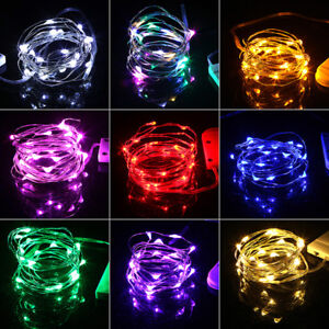 Battery Operated Micro Led Copper Wire