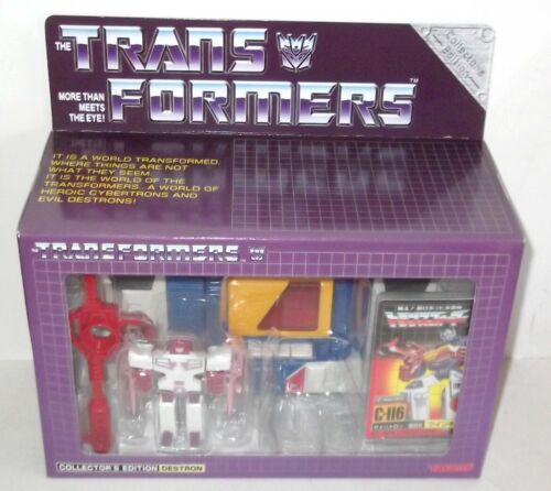 TRANSFORMERS G1 Takara Reissue TWINCAST C-116 C 116 MISB Sealed CASE FRESH
