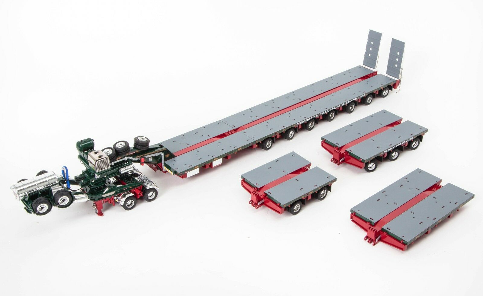 Drake 7x8 Steerable Trailer & 2x8 Dolly & Accessory Set Membrey's 1 50