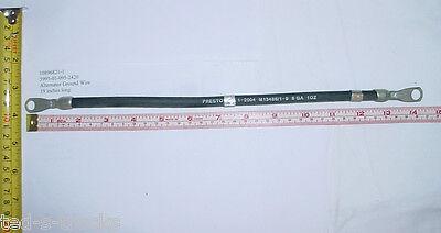 """5995-01-095-2420 #8 copper 14.5/"""" Prestolite M35 Alternator Grnd Wire,10896821-1"""