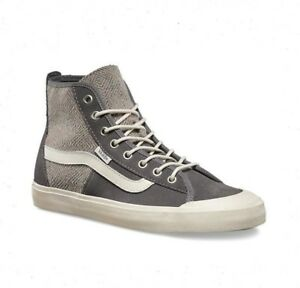 90d69ba696 VANS Dazie-Hi (Geo Wool) Gray Sk8 Hi Skate Shoes Womens Size 10