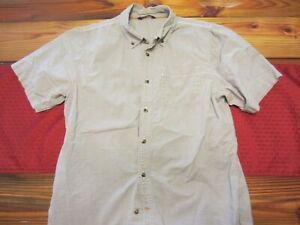d9680cf33 Details about Medium Mens The North Face button front hiking shirt
