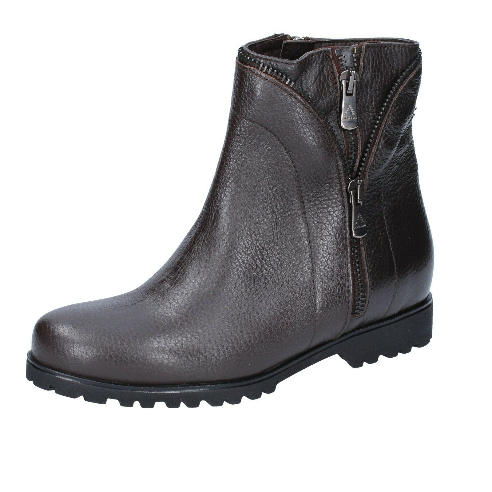 Womens shoes ALBANO 6 () ankle boots brown leather BS899-39