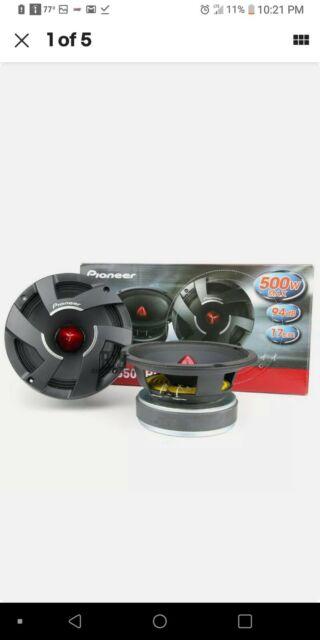 Pioneer TS-M650PRO 6.5 inch One-Way Mid Range Speaker new