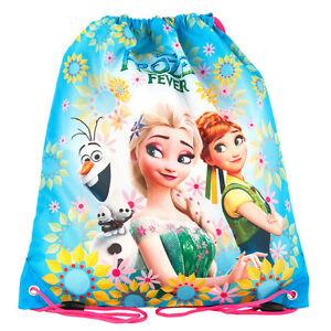 Frozen-Drawstring-Shoe-Bag-Dance-Swim-Bikini-Gym-Sports-Girls-Fever