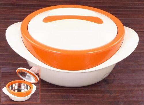 THERMOBEHÄLTER SH orange ISOLIERBEHÄLTER ESSSENBEHÄLTER  Essen warm halten