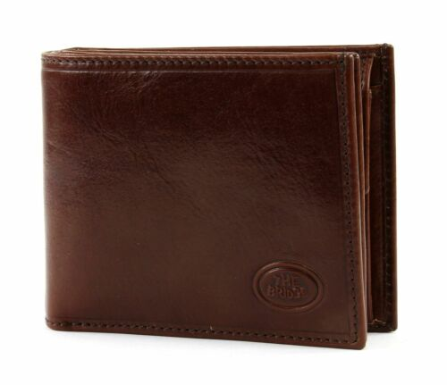 The Bridge STORY Uomo Men/'s wallet with coin pocket S PORTAFOGLIO Marron e Marrone